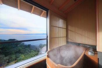 半露天風呂付き和室【禁煙】