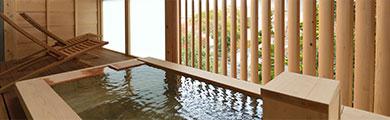 写真:客室の温泉露天風呂 | イメージ