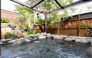写真:温泉大浴場