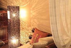 写真:バリ風和洋室タイプ