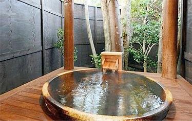 写真:無料貸切露天風呂