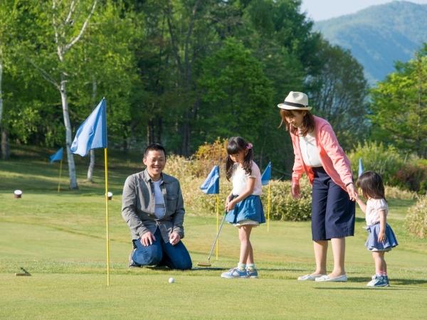 爽やかな高原で楽しむパターゴルフ!
