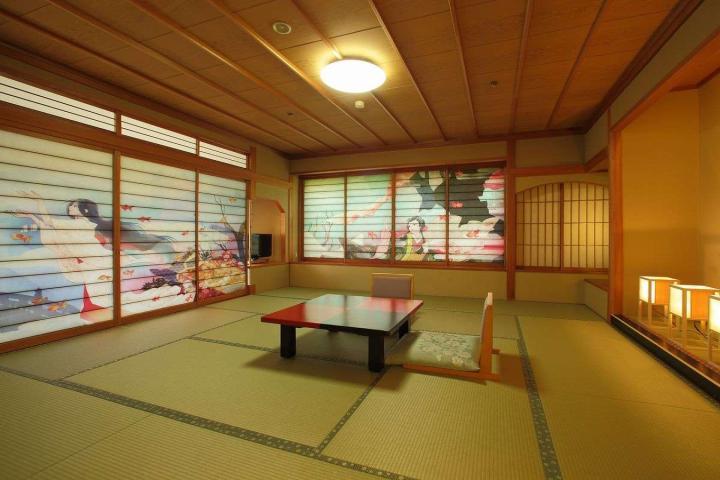【和風別館 もみぢ亭】アートルーム「金魚姫」