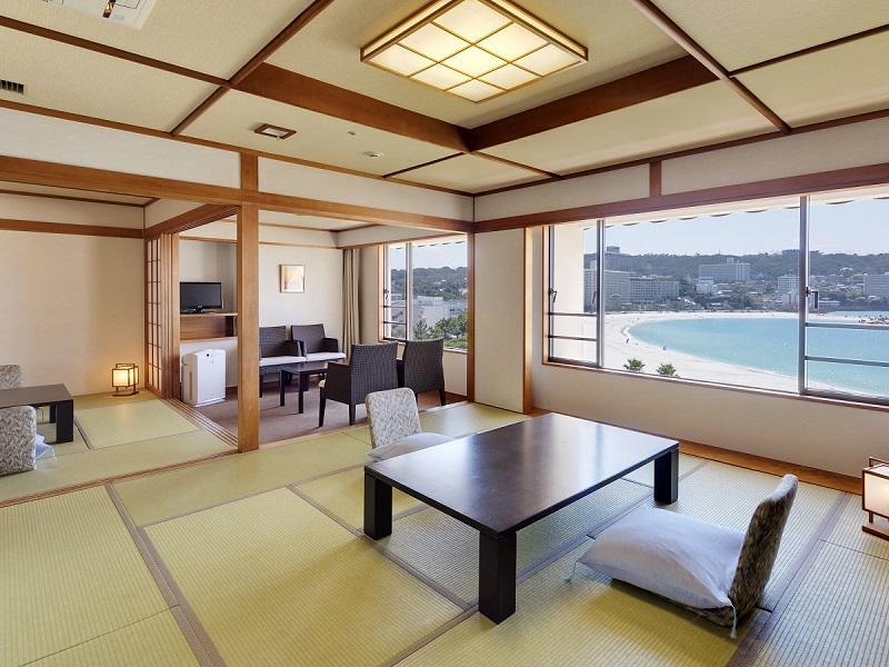 ロイヤルフロアー「貴船」 和室12.5畳+8畳+広縁(70㎡)