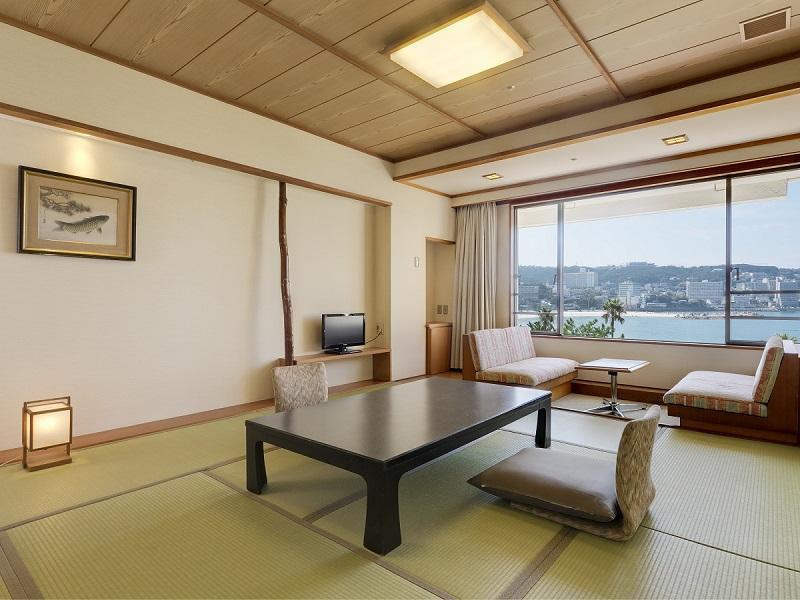 【オーシャンビュー】和室10畳+広縁/禁煙