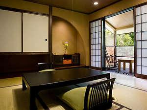露天風呂付き客室 和室(8帖+6帖)