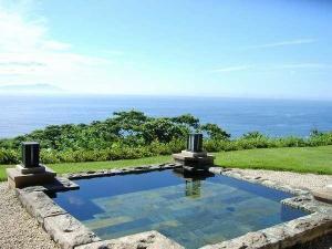 【スウィートバスタイム】 海と大島望む絶景を愛でながら、大切な人とシャンパーニュで乾杯!