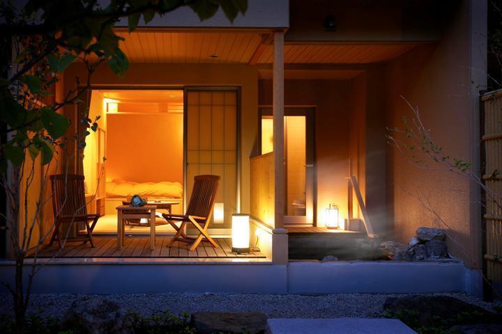 庭園露天風呂付和洋室【1階】(35㎡)