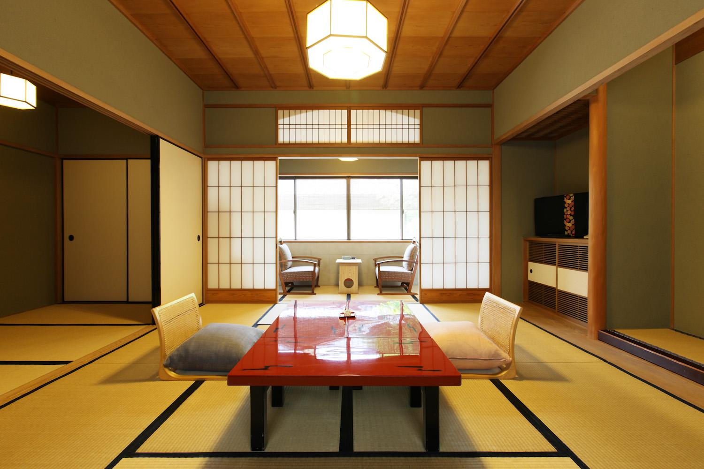 ◆スタンダード和室(10畳)◆【2食付】高野槇木風呂付