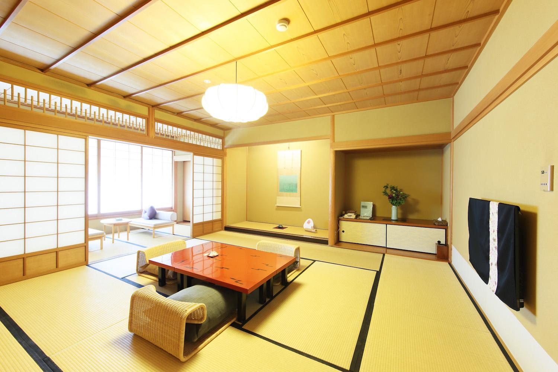 ◆スタンダード和室(12.5畳)◆【朝・素】高野槇木風呂付