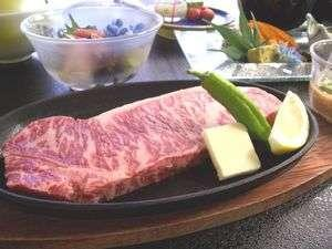 【蔵王牛ステーキ170g付】豪快に!蔵王牛ステーキと季節の味覚会席