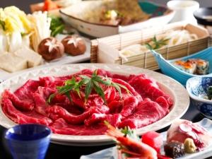 【選べる鍋×お部屋食♪貸切風呂無料】牛すき焼き!ぶりしゃぶ!牛しゃぶ!鯛しゃぶ!海鮮鍋!2名様毎選択