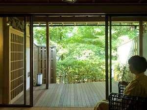 『松風庵』松籟(101号室):源泉露天+和室12.5畳+ベッドルーム