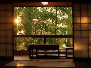 『松風庵』松緑(105号室):源泉露天+和室12.5畳+ベッドルーム