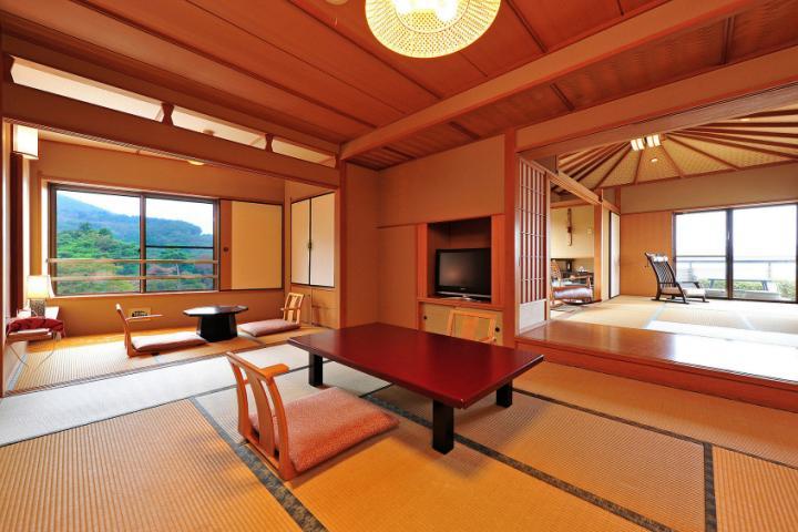 12畳+7.5畳 露天風呂付特別室 「槐-えんじゅ-」