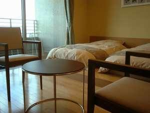 びわの風(和室+ツインベッド+露天風呂付)