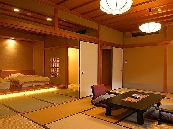 和洋室70平ハイグレード12畳+ベッドルーム(内風呂のみ)