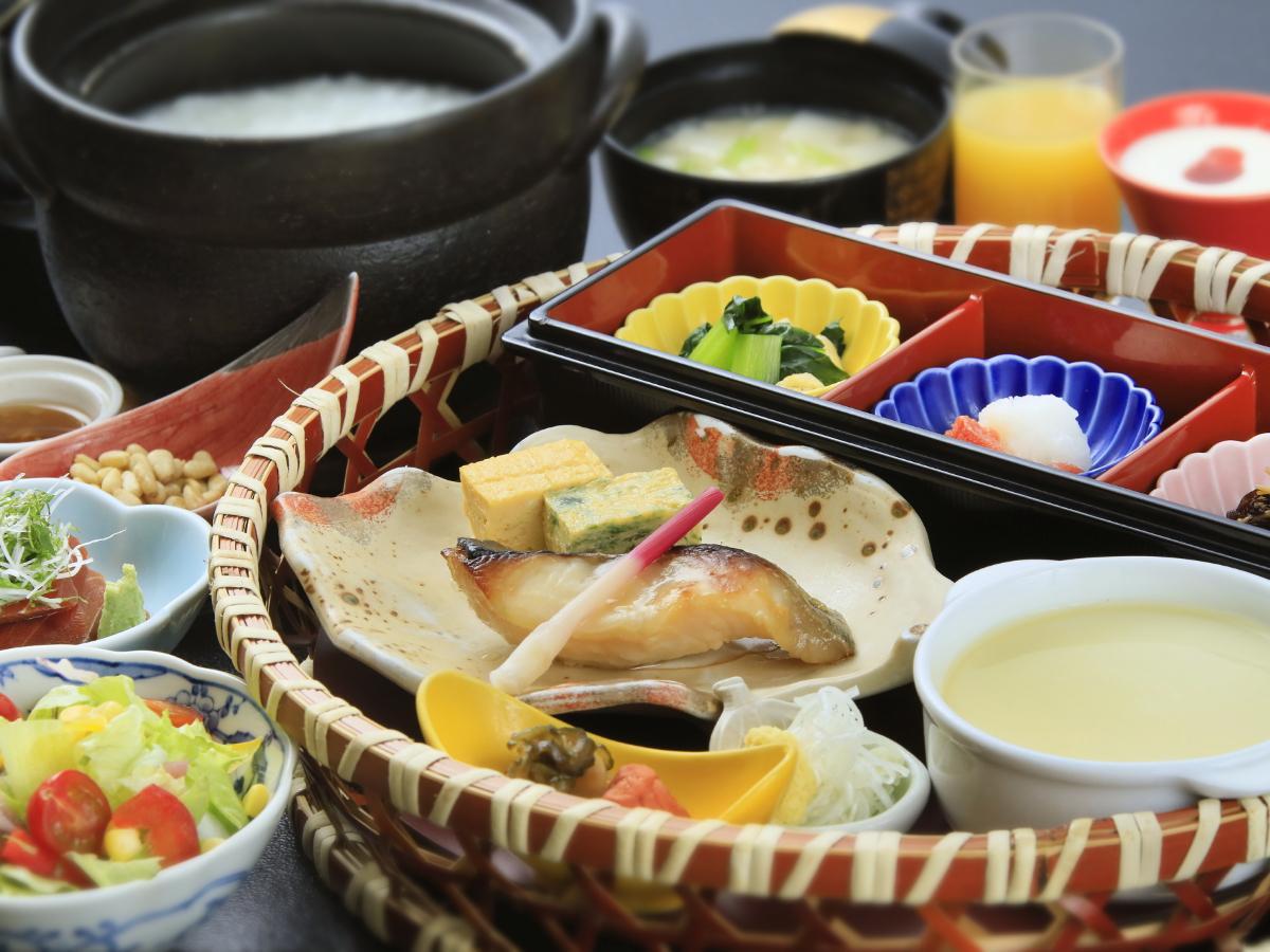 【朝食のみ】21時まで予約OK!身体に優しい和朝食をお届け。観光やビジネスにも!/1泊朝食のみ