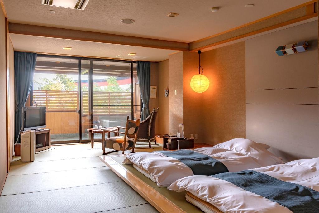 温泉露天風呂付 琉球畳の和モダンルーム【禁煙】