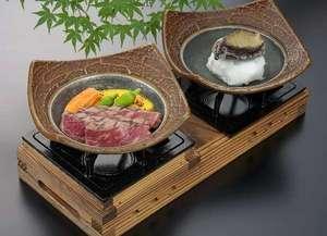 【平日限定】メイン料理は「上州牛ステーキ」&「活あわびの踊り蒸し」+ 釜飯の創作会席プラン!