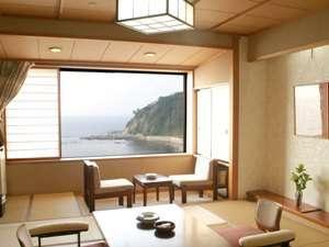 素泊まりで温泉満喫♪海の見える和室でお食事なしの素泊まりプラン
