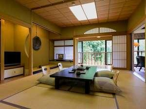 離れ 青巒荘【山法師】■半露天風呂付き特別室・二階造和洋室■
