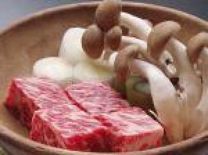 【選べるグルメStyle】仙壽閣名物<信州牛ステーキor有機野菜と信州牛の仙獄蒸>