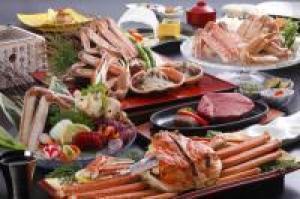 浜坂産タグ付松葉蟹使用○冬の特選蟹会席○『椿の膳』