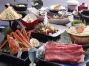 タグ付松葉蟹使用11月からの特選蟹会席○平日限定『冬の膳』