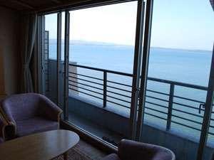 絶景!【海側客室上層階プラン】7階以上確約♪☆部屋食