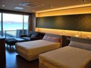 七尾湾を一望の露天風呂とこだわりの和洋室☆新しいリラクゼーションルームで過ごす特別な休日♪