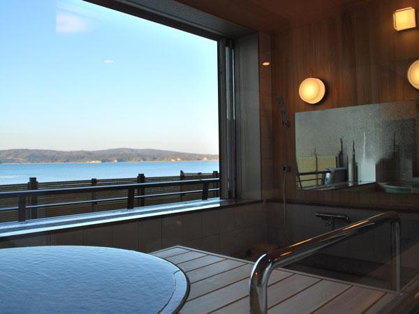 海が見える半露天風呂(温泉)付和洋室☆【禁煙】newオープン