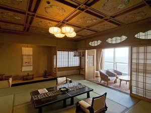 特別室「万葉の間」~和室12.5畳+6畳 海側