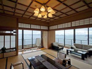 「汐見亭」特別室 和室12.5畳+洋室 海側