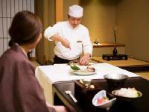 【踊る!伊勢海老】料理実演付☆島の恵み・とれぴち会席