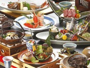 山陰の厳選食材使用!境港の鮮魚いろいろ&鳥取和牛&アワビ☆お料理重視の特選グルメ会席コース♪
