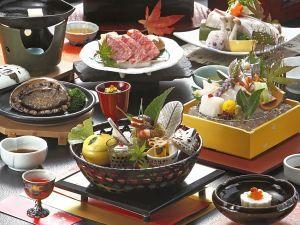 ☆山陰の味覚満喫☆ 鳥取和牛◆活アワビ 調理長おすすめ会席コース♪