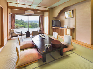 【オーシャンビュー】堂ヶ島温泉ホテルのスタンダード和室10畳