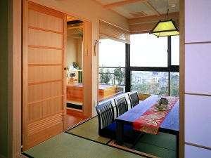 人気の上層階露天風呂付客室「里山」で滋賀の旅を楽しもう!!
