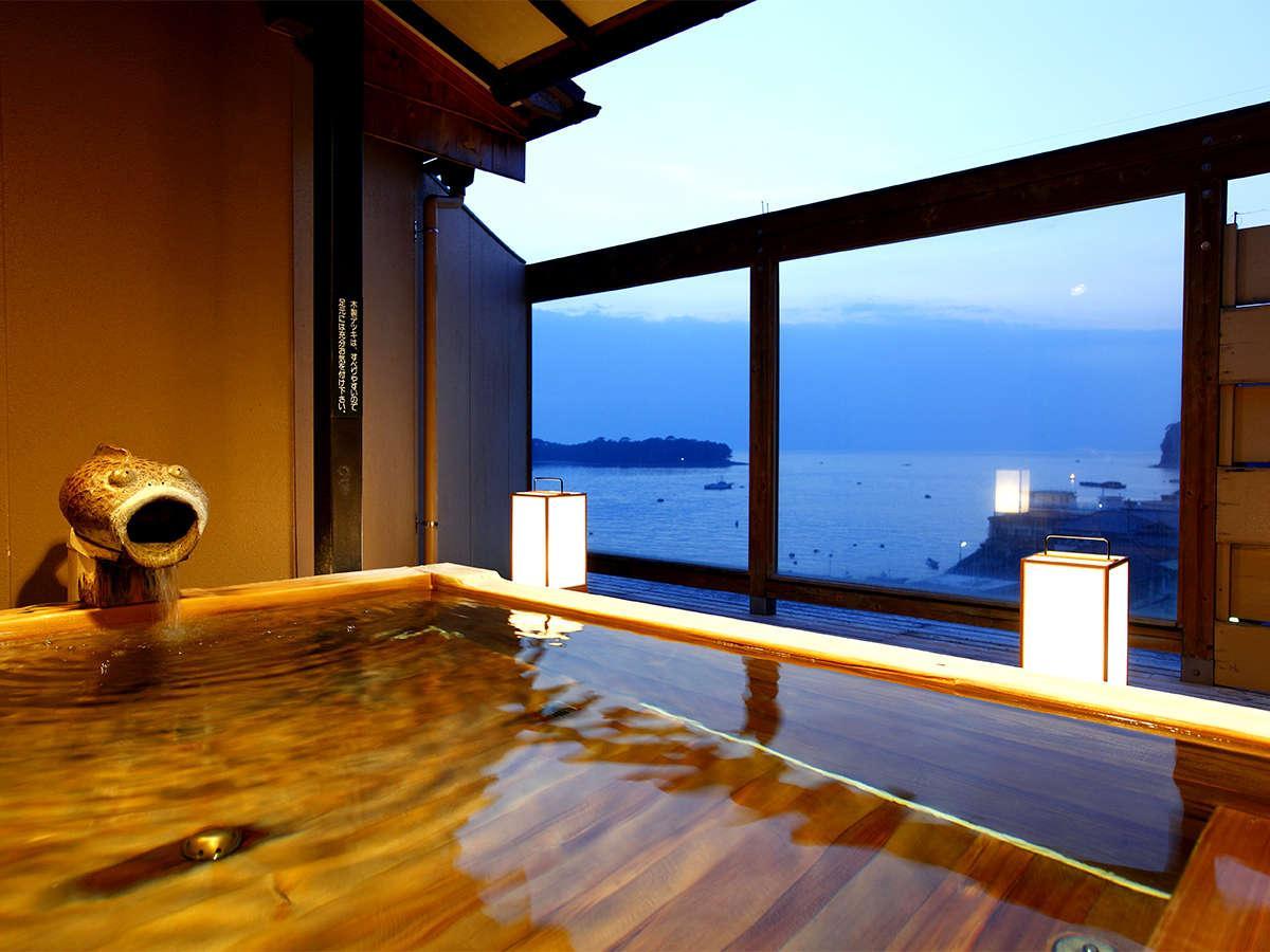 ◆+。・゚駿河湾の夕景を望む貸切露天×駿河湾の海の幸*:。+◆お得に体験プラン
