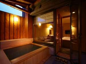 露天風呂付ツインルーム30平米(山側)【禁煙】