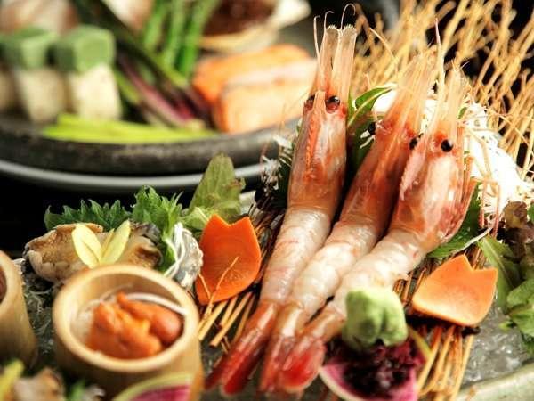 【夕食:特選コース】温泉と贅沢なごちそうを/特選会席「天のはら」◆