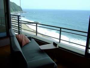 最上階禁煙/超絶景/大島とオーシャンビュー客室10畳和室+広縁