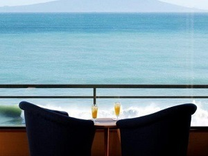 最上階7F/超絶景・大島&海を一望出来る客室10畳和室+広縁