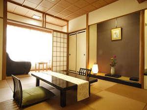 ◆禁煙室◆和室10畳+2畳◆マッサージチェアー付、5名定員◆