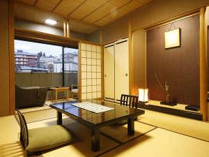 ◆禁煙室◆和室9.5畳+2畳◆マッサージチェアー付、4名様定員◆