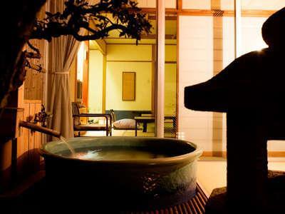 【和室10畳】-天然温泉-露天風呂付客室