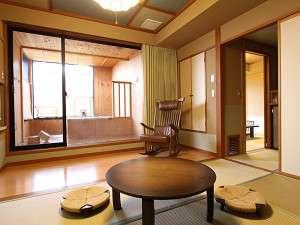 千遊館露天風呂付客室10畳+6畳