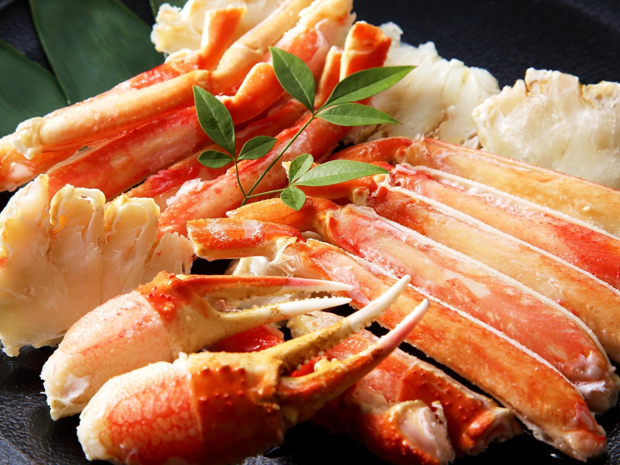 【美味旬旅◆特別会席 潮~うしお】北海道のご馳走を食す 蟹づくしの特選会席 [夕食:個室会食処]
