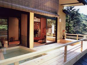 特別室大笹宿 踏込+10畳+6畳+囲炉裏+露天風呂+広縁